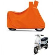 Kaaz Full Orange Two Wheeler Cover For Electric