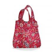 reisenthel - mini maxi shopper, paisley ruby