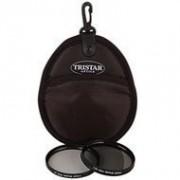 58mm Tristar Optics UV & C-PL Filter Bonus Pack Plus Carry Pouch