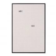 Design Letters - Message Board A2, grau