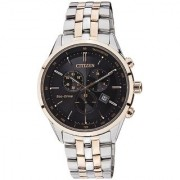 Citizen Round Dial Multicolor Stainless Steel Strap Analog Watch for Men - AT2144-54E