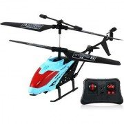 LEAD HONOR Durable King Remote Control Helicopter High Quality Imported RC LH-1302 (Blue) For Kids Plane With 3D Lights