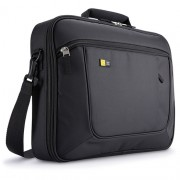 "Geanta laptop 15.6"" Case Logic, slim, buzunar interior 10.1"", buzunar frontal, poliester, black ""ANC316"""