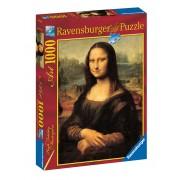 PUZZLE MONA LISA, 1000 PIESE - RAVENSBURGER (RVSPA15296)