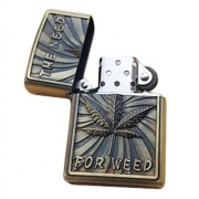 Bricheta tip zippo, 3D relief, metalica, the need for weed