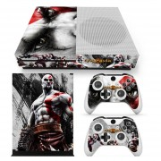 Xbox One S Skin Estampa Pegatina - God Of War 1
