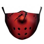 JASON Piatok 13 film maska (rúško) na tvár - 100% polyester