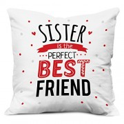 GRABADEAL Sister is the perfect best friend cushion gift for Raksha Bandhan