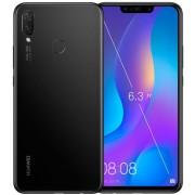 "Telefon Mobil Huawei P Smart Plus, Procesor HiSilicon Kirin 710, Octa Core 2.2GHz/ 1.7GHz, IPS LCD 5.65"", 4GB RAM, 64GB Flash, Camera Duala 16MP + 2MP, 4G, WI-FI, Dual Sim, Android (Negru) + Cartela SIM Orange PrePay, 6 euro credit, 6 GB internet 4G, 2,00"