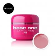Gel uv Base One Color La Viva Pink 5g