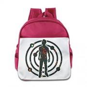 Kid Cudi Satellite Flight The Journey To Mother Moon Rucksack Daypack Kids School Bag Pink