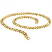 Dare by Voylla Thick Curb Link Statement Men?s Chain