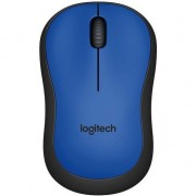 Mouse Logitech M220 Silent, Wireless, Blue