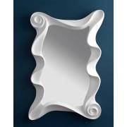 items-france LITTLE VENIZIA - Miroir design blanc antique 115x84