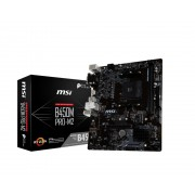 MB, MSI B450M PRO-M2 V2 /AMD B450/ DDR4/ AM4 (911-7B84-014)