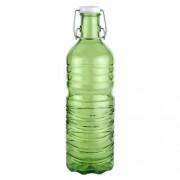 Botella agua verde