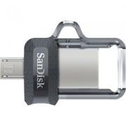 SANDISK 32GB ULTRA DUAL DRIVE M3.0 micro-USB and USB 3.0 connectors