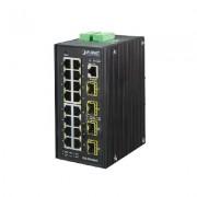 Switch Administrable Industrial 16 puertos Gigabit Ethernet + 4 SFP, IGS-20040MT