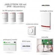 JABLOTRON 100 set 3xPIR Bezdrôtový systém