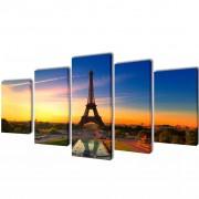 Декоративни панели за стена Айфелова кула, 200 x 100 см