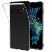 Saii Premium Anti-Slip Samsung Galaxy S10+ TPU Case - Doorzichtig