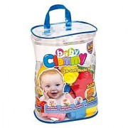 Baby Clemmy Soft Block 24pc Zip Bag Building Construction Toy
