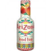 ARIZONA Iced Tea Peach Bevanda Al Te' Freddo A Pesca 500Ml