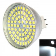 MR16 5W 500lm luz blanca fria 72-2835 SMD LED bulbo de la taza (ac 10-30V)