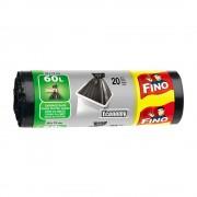 Saci menajeri FINO, 60 L, 20 buc/rola