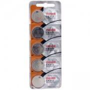 Бутонна батерия литиева CR-2025 3 V 5бр. в блистер, цена за 1 бр. MAXELL, ML-BL-CR-2025-5PK