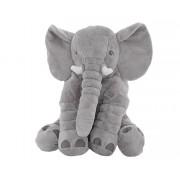 Jucarie din Plus Elefant Mare, Inaltime 58cm, Culoare Gri