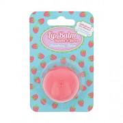 2K Lip Balm Fabulous Fruits 5 g vyživujúci balzam na pery pre ženy Strawberry