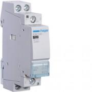 Moduláris kontaktor 40A, 2 Nyitó érintkező, 230V AC 50 Hz (Hager ESC241)