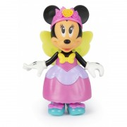 Papusa Minnie cu accesorii Fantasy Fairy, 2 rochite incluse, 3 ani+