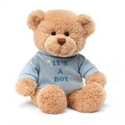 "Enesco Its A Boy T Shirt 7.5"" Bear Plush"
