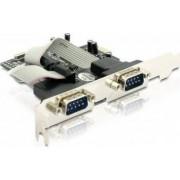 Adaptor Delock PCI Express la 2x com 9pin