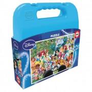 Educa Disney világ puzzle táskában, 100 darabos