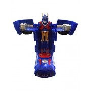 Collectionmart Transformers Remote Control Optimus Prime One Button Transforming Autobot Truck