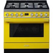 Smeg CPF9GPYW cucina Piano cottura Giallo Gas A+