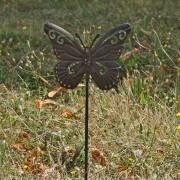 Pique jardinière Papillon 11x30 cm