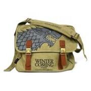 Geanta Game Of Thrones Stark Winter Is Coming Marron