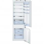 Combina frigorifica Bosch KIS87AF30, incorporabil, clasa energetica A++, capacitate 211+61 litri, afisaj digital, tehnologie low frost, sertar cu control de umiditate hydro fresh