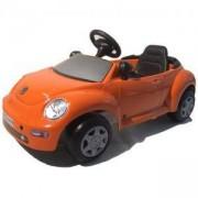 Детска кола с педали VW NEW BEETLE - Оранжева, 313015