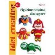 Idei Creative 121 - Figurine nostime din capace - Olga Gre