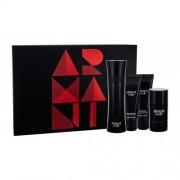 Giorgio Armani Armani Code Pour Homme set cadou EDT 125 ml + Balsam dupa barbierit 75 ml + Gel de dus 75 ml + Deodorant Stick 75 ml pentru bărbați