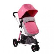 Carucior 2 in 1 Cangaroo Sarah Grey and Pink
