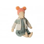 Maileg Winter mouse, medium - girl - taille : 31 cm