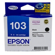 EXTRA HIGH CAP (103) BLACK FOR STYLUS OFFICE T40W, TX600F