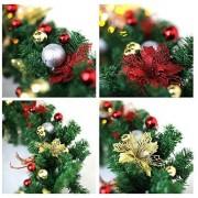 Plant&More - Kerstslinger met decoratie en verlichting 5 m