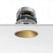 Flos Easy Kap 80 Plafonnier encastré rond ajustable LED, doré, 19°